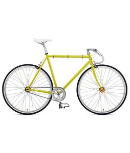 Fuji Feather Bike Lemon Yellow/Sparkling Silver 56cm (M/L)