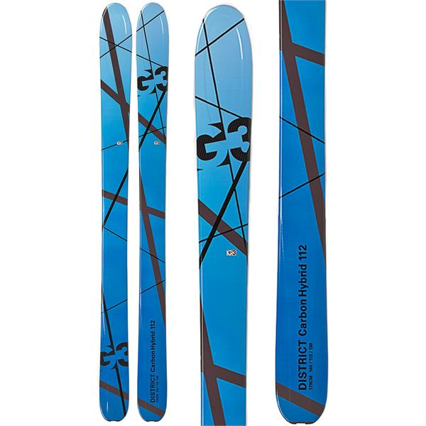 G3 District Carbon Hybrid 112 Skis