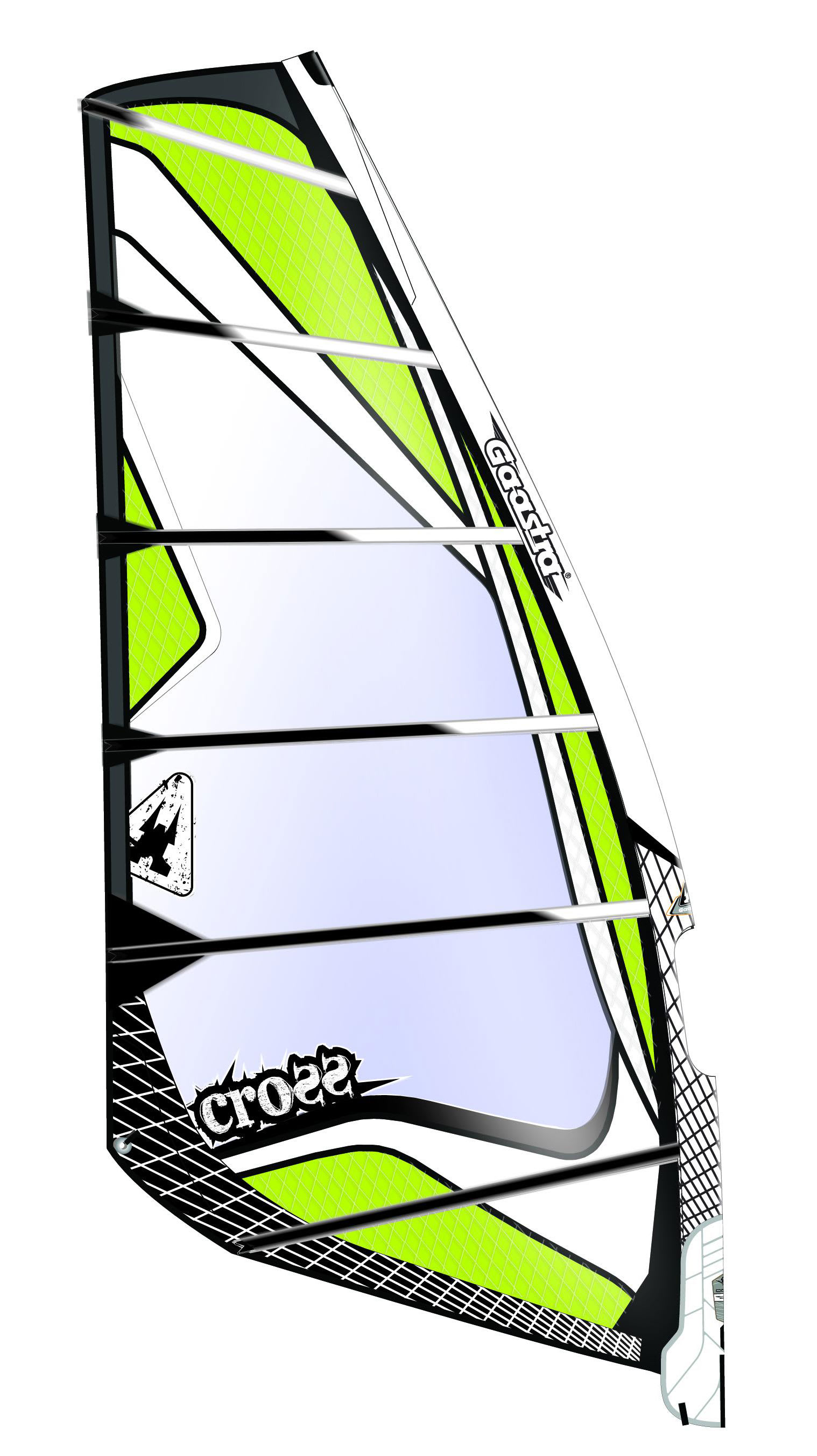 on sale gaastra cross windsurf sail 6 9m up to 70 off. Black Bedroom Furniture Sets. Home Design Ideas