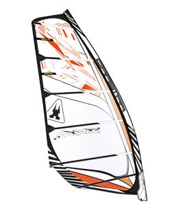 Gaastra Matrix Windsurf Sail Orange/White 8M