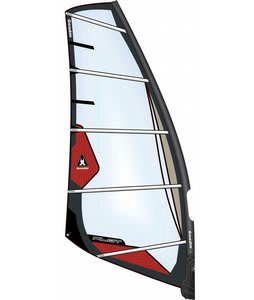 Gaastra Pilot Freeride Windsurfing Sail 7.5 Red/Gry