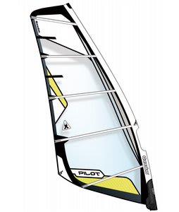 Gaastra Pilot Windsurfing Sail 7.0 White/Yellow