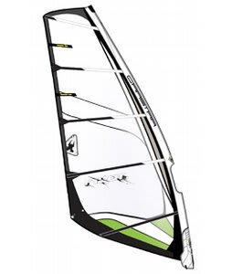 Gaastra Pilot Windsurf Sail C1 Green/White 7.5M