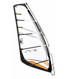 Gaastra Pilot Windsurf Sail C4 Orange/White 6.5M