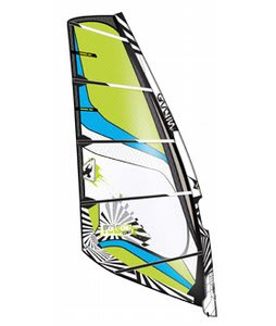 Gaastra Poison Windsurf Sail Black/Green 4.7M