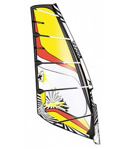 Gaastra Poison Windsurf Sail Black/Yellow 5.4M