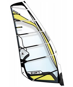 Gaastra Swift Windsurfing Sail 7.5 Black/Yellow