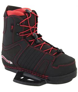 Gator Boards Gonzalez CT Wakeboard Bindings Black/Red