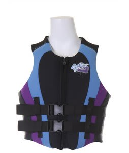 Gator Boards GB Allegance Wakeboard Vest CGA Black/Blue/Purple