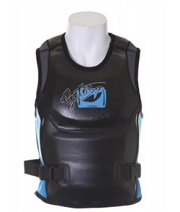 Gator Boards GB The Bandito Pullover Comp Wakeboard Vest Black/Blue