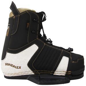 Gator Boards Gonzalez LTD Wakeboard Bindings Black/Gold