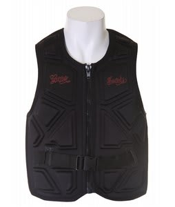 Gator Boards Impact Combat Comp Wakeboard Vest Black