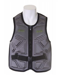 Gator Boards Impact Combat Comp Wakeboard Vest Charcoal 