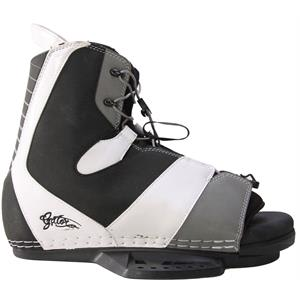 Gator Boards Team Wakeboard Bindings Black/White