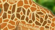 The House Giraffe Wallpaper
