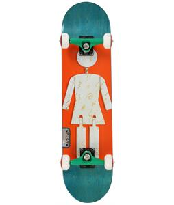Girl Koston On Exhibit Skateboard Complete 7.5 x 31in