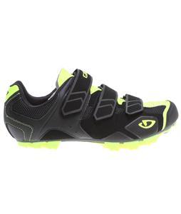 Giro Carbide Bike Shoes Black/Highlight Yellow