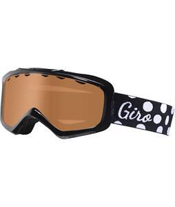 Giro Charm Goggles Black Polka Dot/Amber Rose Lens