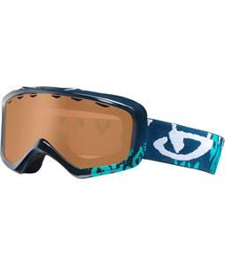 Giro Charm Goggles Dynasty Green Ikat/Amber Rose Lens