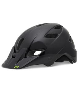 Giro Feature Bike Helmet Black/Ano Green Blockade