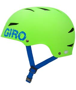 Giro Flak Bike Helmet Mat Bright Green