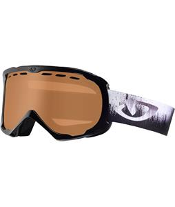Giro Focus Goggles Black Emulsion/Amber Rose Lens