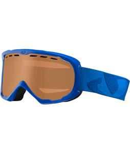 Giro Focus Goggles Blue Icon/Amber Rose Lens