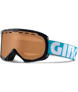 Giro Focus Goggles Dynasty Green Color Block/Amber Rose Lens