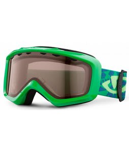 Giro Grade Goggles Green Goggle Bots w/ AR 40 Lens 