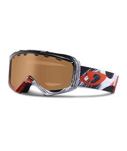 Giro Grade Goggles Black Red Cosmos/Amber Rose Lens