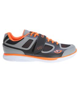Giro Grynd Bike Shoes Silver/Flourescent Orange
