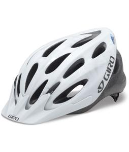 Giro Indicator Bike Helmet White/Silver Explosion Adjustable (54-61cm)