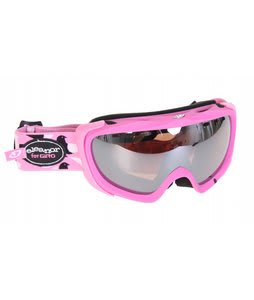 Giro Lyric Goggles Matte Pink/Eleanor Birds/Rose Silver 23 Lens