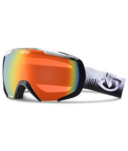 Giro Onset Goggles Black Emulsion/Persimmon Blaze Lens