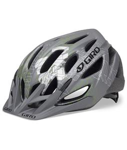 Giro Rift Bike Helmet Matte Titanium/Hi Yellow Blocked
