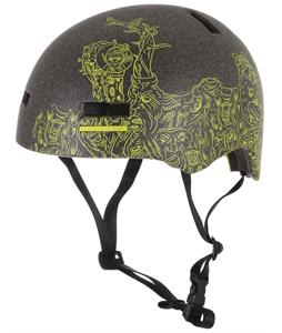 Giro Section Bike Helmet Matte Transparent/Green Creatures