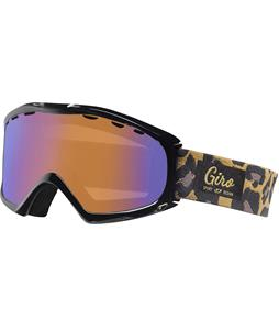 Giro Siren Goggles Leopard/Persimmon Boost Lens