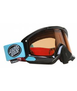 Giro Station Goggles Black/Santa Cruz Roskopp/Persimmon Lens