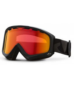 Giro Station Goggles Black Icon w/ Amber Scarlet Lens 