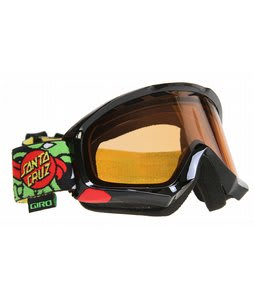 Giro Station Goggles Black/Santa Cruz Slasher/Persimmon Lens