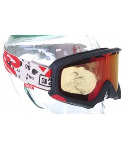 Giro Station PK Goggles Matte Black/Dada Tan/Amber Scarlet Lens