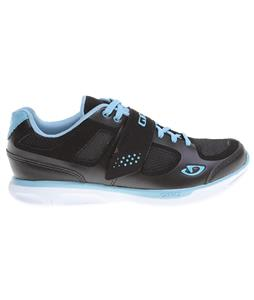 Giro Whynd Cycling Shoes Black/White/Milk Blue