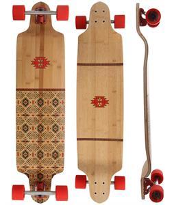 Globe Bannerstone Bamboo Longboard Complete
