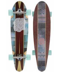 Globe Chronicle Bamboo Longboard Skateboard Clear Water