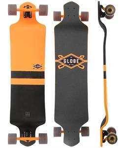 Globe Geminon Drop-Down Longboard Complete Fluoro Yellow/Black