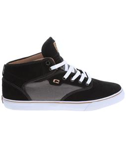 Globe Motley Mid Skate Shoes Black/Tan