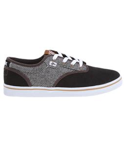 Globe Motley Skate Shoes Vintage Black/Herringbone