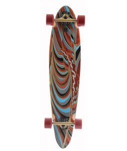 Globe Nue Peak Cruiser Longboard Skateboard Complete Multi