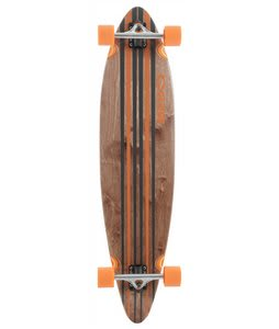 Globe Pinner Longboard Skateboard Complete Black/Orange
