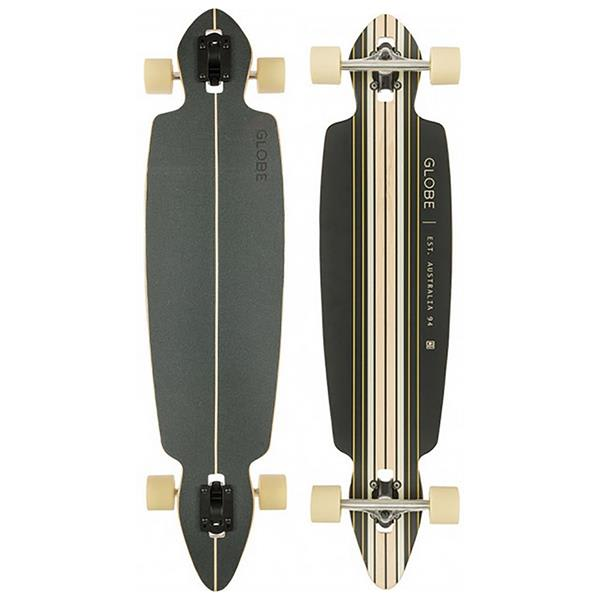 Globe Pinner Drop Through Skateboard Complete